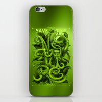 Save The Nature iPhone & iPod Skin
