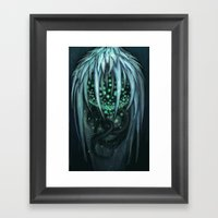 The Ice Demon Framed Art Print