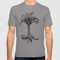 Pacata Cruciatu Mens Fitted Tee Athletic Grey SMALL