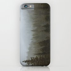 Snowy Forks Forest iPhone 6 Slim Case