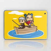 Social Fishing Laptop & iPad Skin