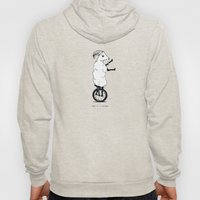 Goat On A Unicycle (labe… Hoody