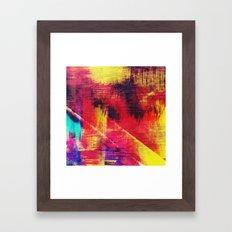 Color Ruins Framed Art Print