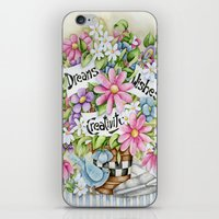 Dreams Wishes And Creativity iPhone & iPod Skin