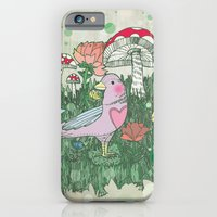iPhone & iPod Case featuring Woodland by Jo Cheung Illustration