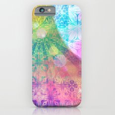 Moon and Sun having a shine out iPhone 6 Slim Case