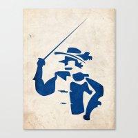 Cyrano De Bergerac - Dig… Canvas Print