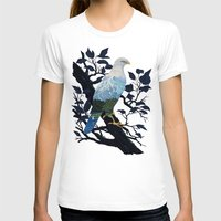 Eaglescape Womens Fitted Tee White SMALL