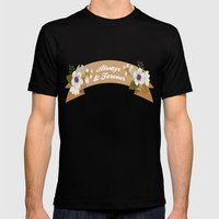 Always & Forever Mens Fitted Tee Black SMALL