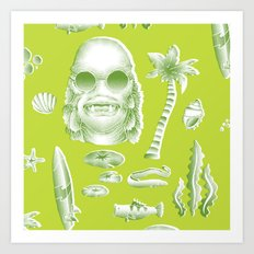Beachure Art Print