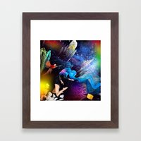 Ketamine Sky Framed Art Print