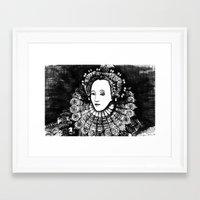 Queen Elizabeth I Portra… Framed Art Print