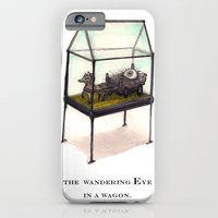iPhone & iPod Case featuring the wandering Eye in a wagon by Richard J. Bailey