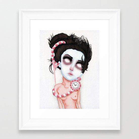 Endlessly Waiting  Framed Art Print