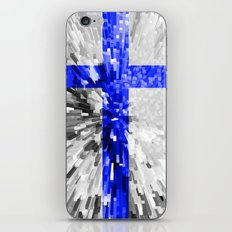 Finland Flag - Extrude iPhone & iPod Skin