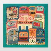 Instant Drôlatique-8h37… Canvas Print