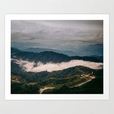 hiking in malaysia Art Print