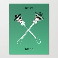 Best Buds I Canvas Print