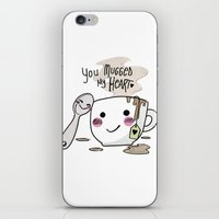 I Love Your Mug iPhone & iPod Skin