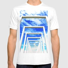 Sculpture in Schwerin SMALL White Mens Fitted Tee