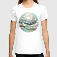ocean T-shirts featuring Ocean Meets Sky  by Terry Fan