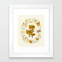 The Legend Of Zelda: Mam… Framed Art Print