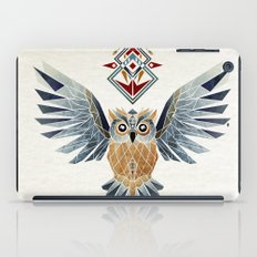owl winter iPad Case