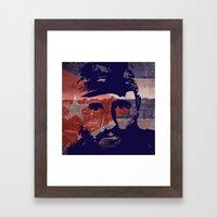 Heads of State: Fidel Castro Framed Art Print
