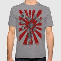 seppuku monster Mens Fitted Tee Athletic Grey SMALL
