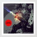 Vampire Assassin Art Print