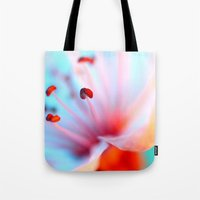 Blossom in Blue Tote Bag