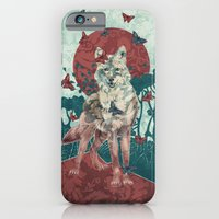 iPhone Cases featuring Lady Butterfly by Paula Belle Flores