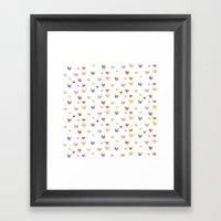 Cat Family (Smaller Cats… Framed Art Print