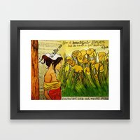 Heart Aches Framed Art Print