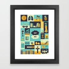 TFiOS Items Framed Art Print