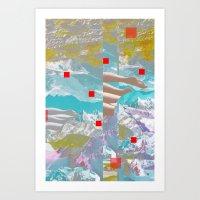 MountainMix 4.4 Art Print