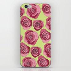 Bright Rose Pattern iPhone & iPod Skin