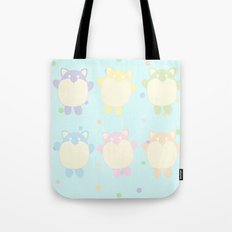 Chubby Kitties Tote Bag