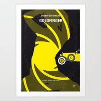 No277-007 My Goldfinger … Art Print