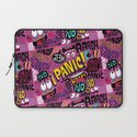 Panic Pattern Laptop Sleeve
