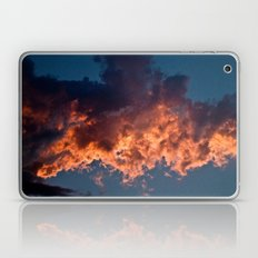 Clouds On Fire Laptop & iPad Skin