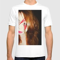 Blood + Lipstick Mens Fitted Tee White SMALL