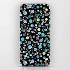 Blue constellations iPhone & iPod Skin