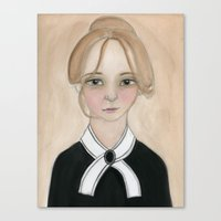 Miss Charlotte Canvas Print