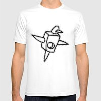 Patternmaker Bird Mens Fitted Tee White SMALL