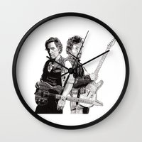 Bruce & Bruce Wall Clock