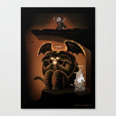 Wizardly Shenanigans Canvas Print