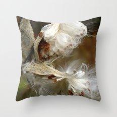Whispy Throw Pillow