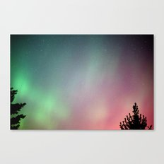 Jupiter and the Aurora (4) Canvas Print