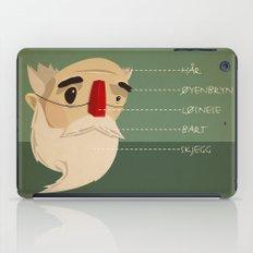 Fake nose iPad Case